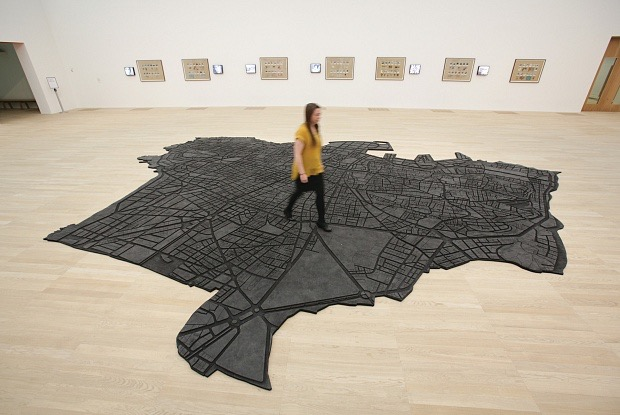 Marwan Rechmaoui's Beirut Caoutchouc (2004-08), on show at the new Tate Modern (Photo: © Daniel Leal-Olivas/AFP/Getty Images)