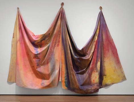 Sam Gilliam's 10/27/69 (1969) is in MoMA's collection (Photo: courtesy of MoMA)