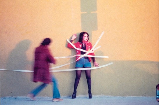 Instant Mural (1974) by the Asco collective (© Asco; photo: Harry Gamboa Jr; courtesy of LACMA)