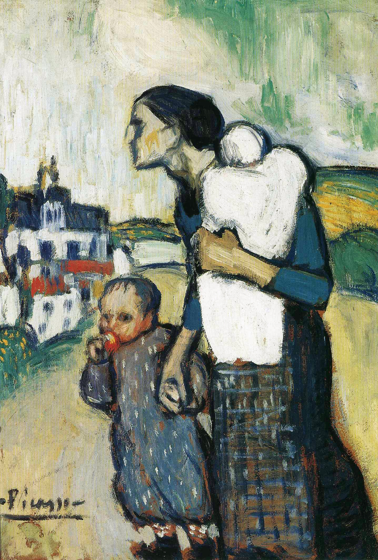 Pablo Picasso (Spanish, 1881-1973): The Mother, 1901. | I Require Art