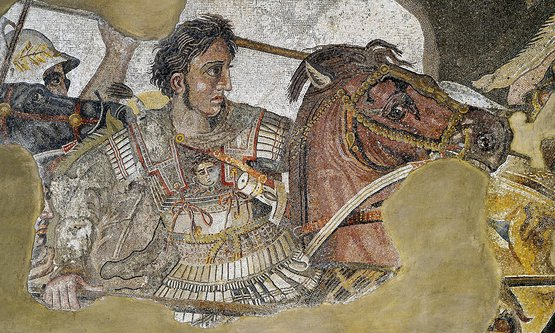 (detail) The Alexander Mosaic