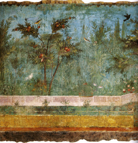 The Painted Garden of the Villa of Livia (Detail)