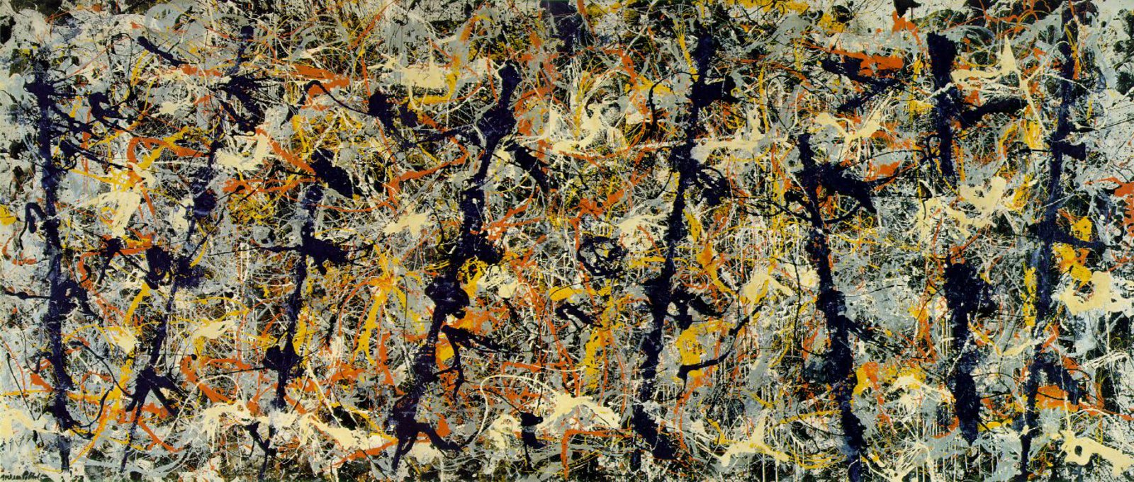 I require art jackson pollock blue poles number 11 for Mural pollock