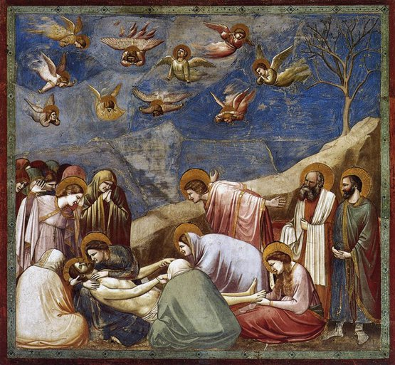 Lamentation, from the Life of Christ Cycle