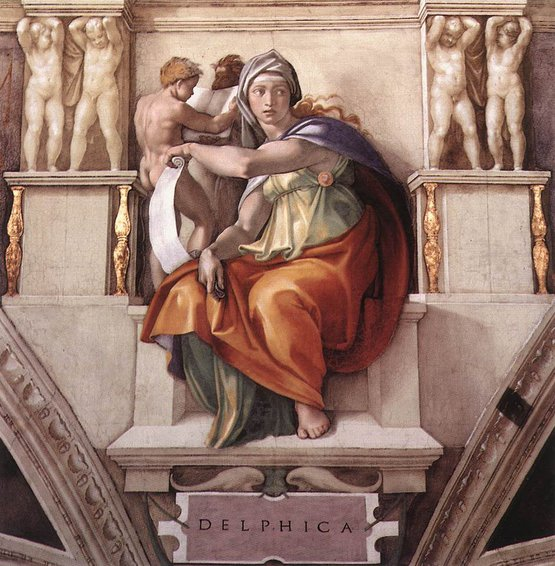 Sistine Chapel Ceiling: The Delphic Sibyl