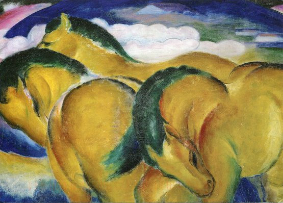 Small Yellow Horses